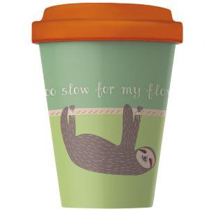Travel mug world map leaf petal travel mug sloth gumiabroncs Image collections